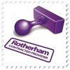 A stamp representing an accreditted provider that work with Rotherham Council