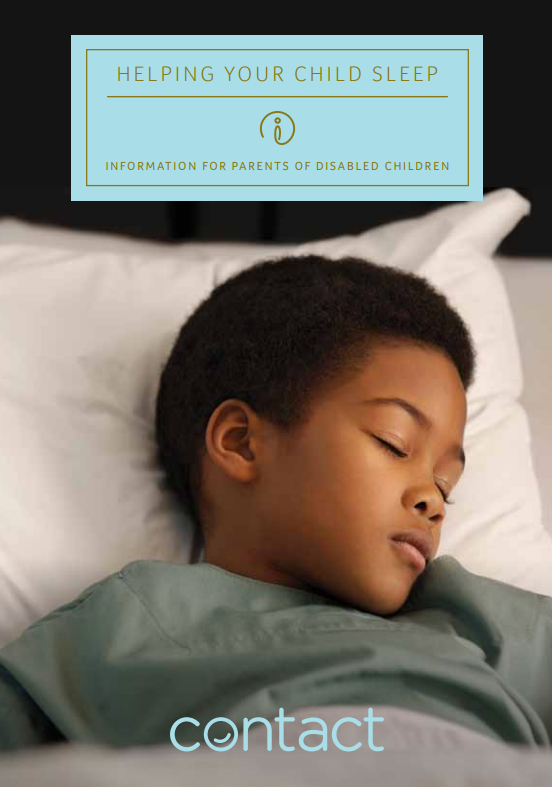 helping your child sleep guide front cover with sleeping child in bed